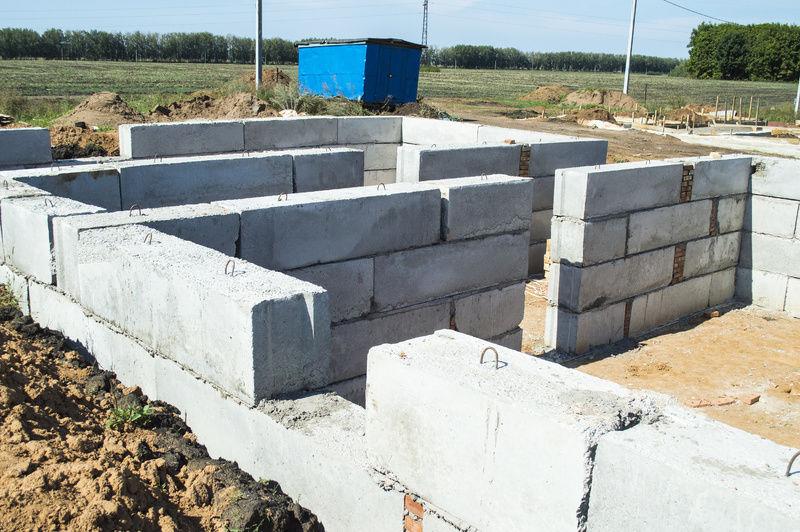 Фундамент из блоков фбс пошаговая инструкция ютуб