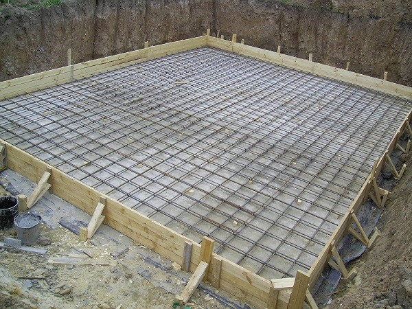 Расчет материалов для плитного фундамента