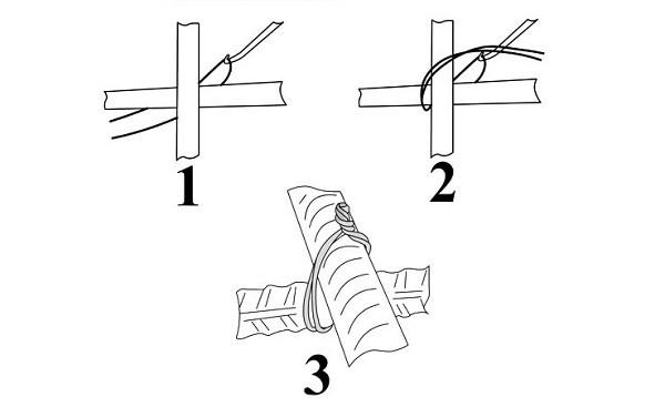 Схема вязки арматуры