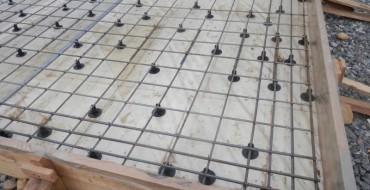 Вязка арматуры для монолитной плиты