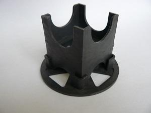 Пластиковый кубик для защитного слоя бетона