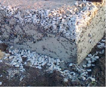 Последствия расслоения бетона