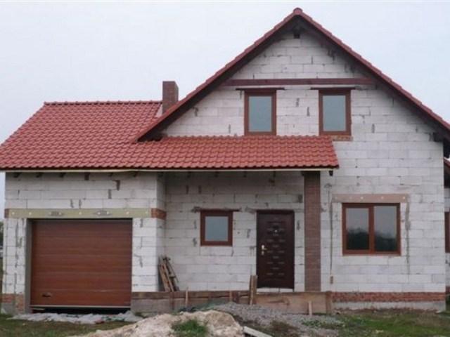 Дом из газосиликата