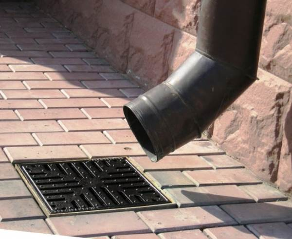 Дождеприемник ливневой канализации