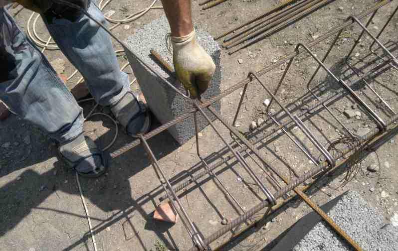 Как вязать арматуру для фундамента