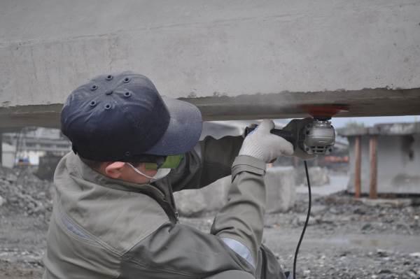 Очистка поверхности бетона