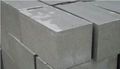 Полнотелые бетонные блоки