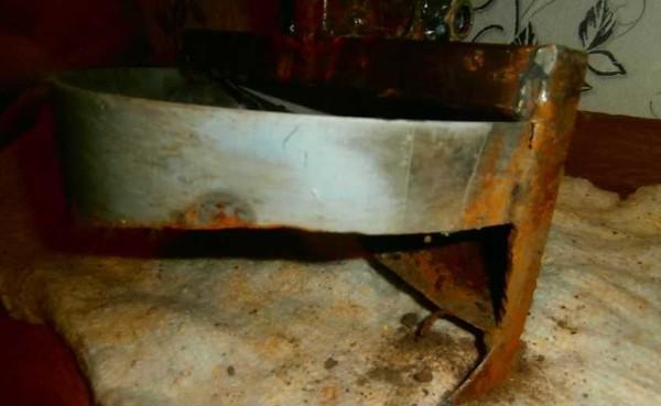Обод из листовой стали