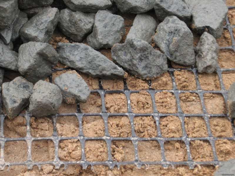 Геосетка для укрепления склонов