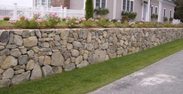 Конструкции подпорных стенок