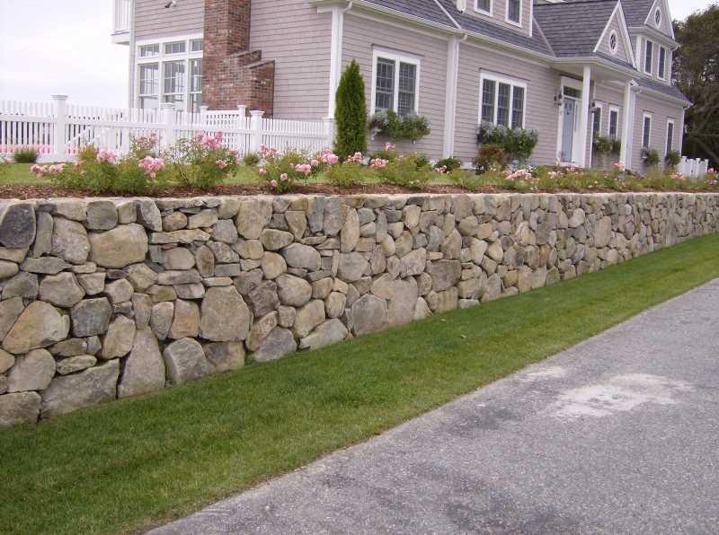 Формы декоративных блоков для подпорных стенок