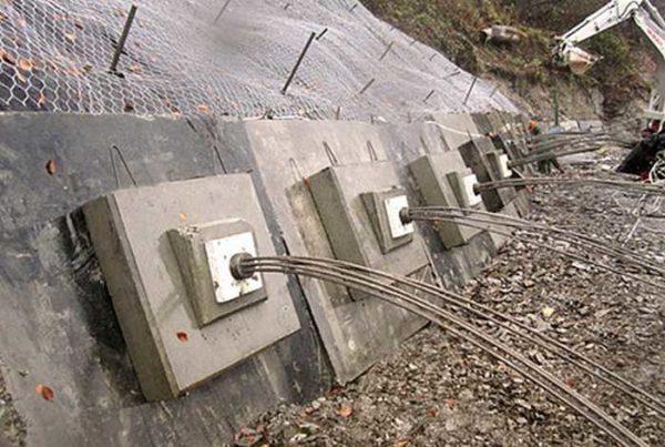 Прядевые анкеры из стальных канатов